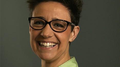Victoria López Coordinadore de la Clínica dental Juan Herrero Segovia